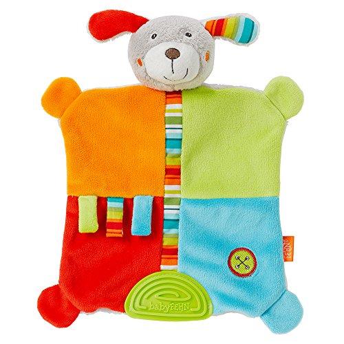 Fehn 086058 - Mantita de actividades para bebé, diseño de perro