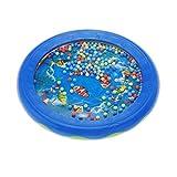 Andoer® Ozean Welle Perle Trommel Sanfte See Klang Musikalisches Pädagogisches Spielzeug Werkzeug für BabyKinder