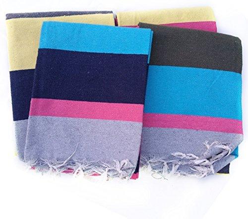Cotton Carpet / Solapur Carpet/Satranji / Bhavani carpet in Multicolours VJPATTA MULTIPURPOSE...