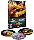 The Fast And The Furious/2 Fast 2 Furious/The Fast And The Furious - Tokyo Drift (Steelbook) [DVD]