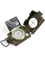 funtalker Multifunktions Military Armee Visieren Kompass mit Tragetasche für Camping, Jagd, Wandern, Camping