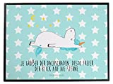 Mr. & Mrs. Panda Schreibtischunterlage Einhorn Sternenhimmel - 100% handmade in Norddeutschland - Einhorn, Einhörner, Unicorn, Sterne, Dachschaden, Verrückt, Sternenhimmel, crazy, witzig, lustig Schreibtischunterlage, Schreibtisch, Unterlage Einhorn, Einhörner, Unicorn, Sterne, Dachschaden, Verrückt, Sternenhimmel, crazy, witzig, lustig