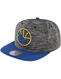 Mitchell & Ness Homme Casquettes / Snapback NBA Prime Knit Golden State Warriors noir Réglable