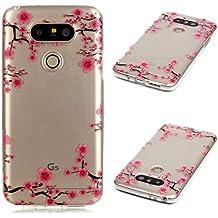 Coque LG G5, MOONCASE LG G5 Etui Mince Coque Housse Parfait Silicone Case avec Absorption de Choc Cover pour LG G5 - XS10