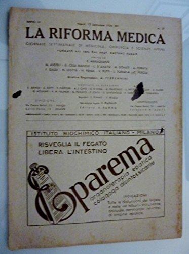 la-riforma-medica-giornale-settimanale-di-medicina-chirurgia-e-scienze-affini-anno-lii-napoli-12-set