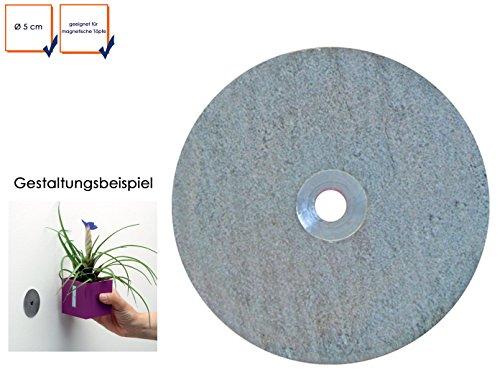 Kalamitica Disco in metallo galvanizzato-per magnetica pentole, Ø 5cm, portaoggetti