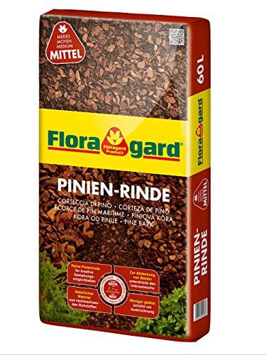 Floragard Mulch Pinienrinde 15-25 mm 60 L, mittel