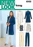 New Look 6163 - Cartamodello per completi da donna, varie taglie