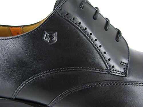 PETER BLADE Chaussures Derby DURK Noir Noir