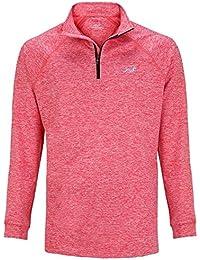 Woodworm Golf ¼ Zip Heather Pullover / Sweater / Jumper
