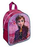 Undercover FRUW7140 Rucksack mit Wendepailletten, für Schule und Freizeit, Disney Frozen II mit Anna und ELSA Motiv, ca. 26 x 21 x 9,5 cm, pink