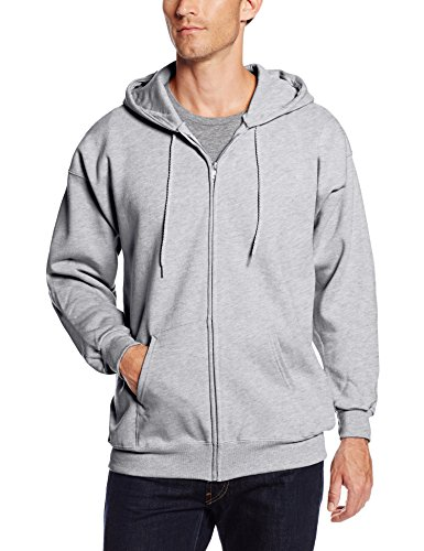 Hanes Herren Pullover Light Steel