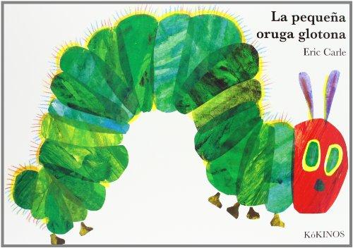 La pequeña oruga glotona cartoné grande (Eric Carle segunda mano  Se entrega en toda España