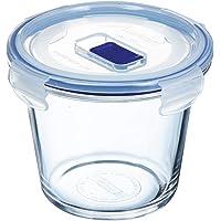 Luminarc Pure Box Active - Boîte de Conservation hermétique en verre, rond, 0,84 L