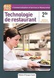 Image de Technologie de restaurant 2e Bac Pro Commercilaistion et Services en Restauration (CSR)