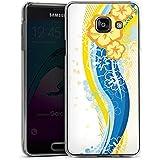 Samsung Galaxy A3 (2016) Housse Étui Protection Coque Fleurs Fleurs Printemps