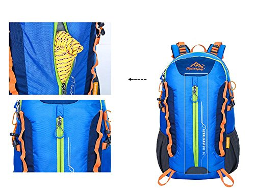 36-55L Professionelle Mountaineering Bag Outdoor-Rucksack Reit Tasche Bewegung Green