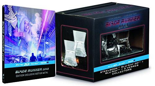 Blade Runner 2049 [Édition limitée - SteelBook Blu-ray 3D / Blu-ray 2D / Digital UltraViolet + 2 verres à whisky]