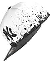 NEW YORK YANKEES - NEW ERA CAP - PANEL SPLATTER - WHITE / BLACK