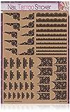 "Sticker-Gigant Nailart Nail Tattoo - XL Set ""Best of Spitze"