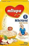 Milupa Milchbrei Apfel-Vanille ab dem 8. Monat