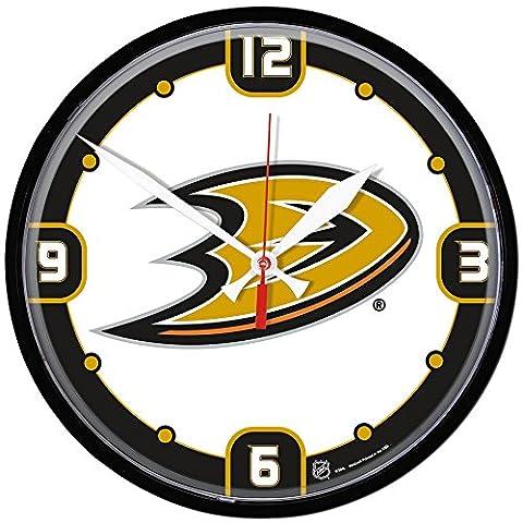 NHL Horloge murale ronde, noir