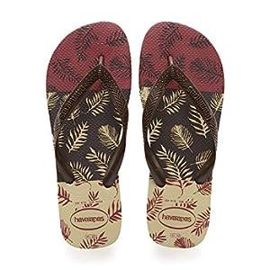Havaianas Aloha, Infradito Uomo, Multicolore (Sand Grey/Dark Brown/Black 3748), 41/42 EU