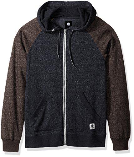 Element Herren Men's Zip Fleece Sweatshirt - blau - Element-fleece-sweatshirt