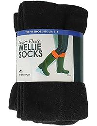 RJM Ladies Fleece Wellie Socks
