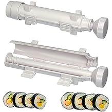Sushi Maker Japonesa Sushi molde fabricante Sushi rollos hacer bola blanco herramientas de cocina de arroz