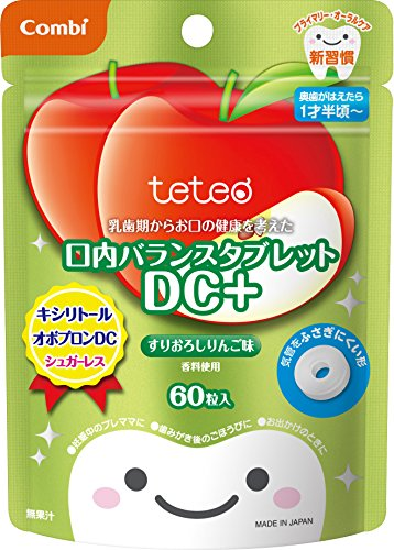 The mouth balance tablet DC + grated apple flavor 60 grain input considering the health of your mouth from Combi Teteo deciduous period by Unknown