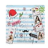 Geschenkbox Love Your Selfie Adventskalender - aktualisierte Ausgabe - für Frauen mit Beauty-Produkten und Selfie-Accessoires