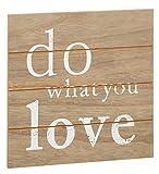 Preis am Stiel Bild ''Do What You Love''   Wanddekoration   Planken Schild   Holzschilder   Wohnaccessoires   Wandschild   Schild mit Spruch   Holzbilder   Geschenkidee für Freunde