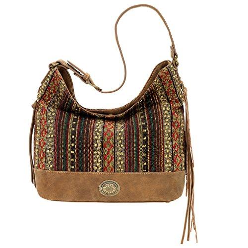 Banadana From American WestÊhobos & Shoulder Bags - Hobo borse donna brown