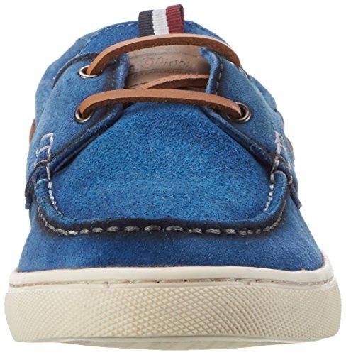 s.Oliver 13608, Chaussures Bateau Homme Bleu (SKY 834)