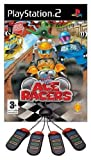 Sony 9772255 Buzz! Junior Crazy RACE + 4 Buzzers Gamepad