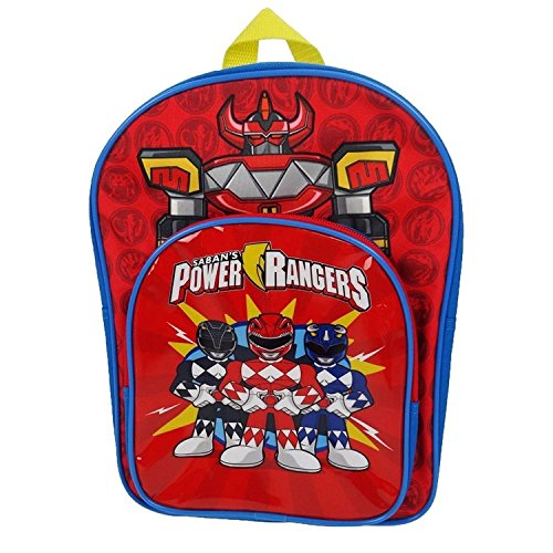 Image of Power Rangers Arch Children's Backpack, 31 cm, 7 L, Red