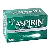 ASPIRIN 500 mg überzogene Tabletten 80 St Überzogene Tabletten