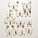 Deal.women 12pcs 3D Butterfly Sticker Decal Wall Stickers by Deal.women