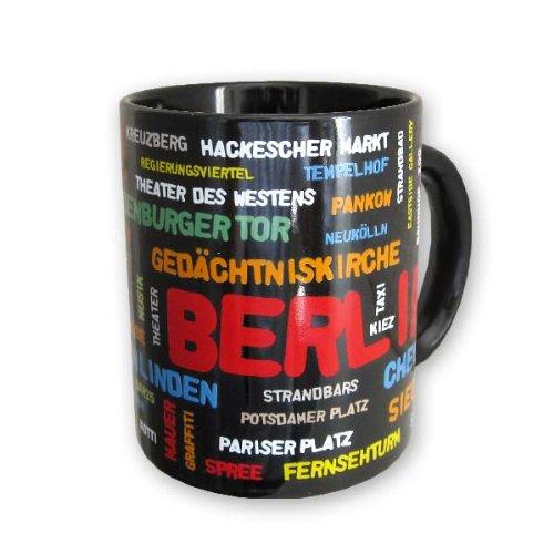 Berlin Kaffeetasse Buchstaben Becher,Souvenir Tasse Germany 300 ml.
