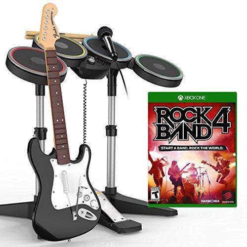 Rock Band 4 Band-in-a-Box Bundle - Xbox One - Bundle Band Xbox Rock