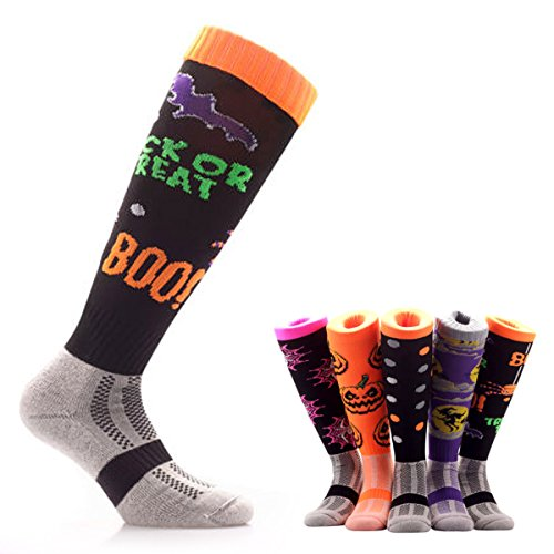 Samson-Hosiery--Trick-Or-Treat-Halloween-Knee-High-Socks-Novelty-Party-Funky-Theme-Kids-Womens-Mens