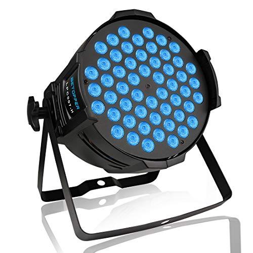 BETOPPER (LPC007-H) par led 54 * 3W RGB LEDs luce per dj karaoke professionale DMX512 lampada a led luce discoteca luci da palco fari discoteca
