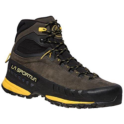 La Sportiva TX5 GTX, Stivali da Escursionismo Uomo, Multicolore (Carbone/Giallo 000), 40 EU