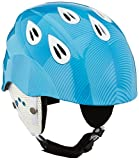ALPINA Kinder GRAP 2.0 JR Skihelm, Blue-White, 54-57 cm