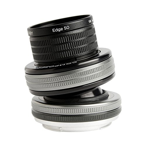 Lensbaby Composer Pro II 50 mm Edge 50 Objektiv für Nikon F Objektivbajonett schwarz - Edge 80 Optic Lensbaby