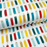 Emily&Joe's fabrics Bio-Baumwoll Jersey BUNTSTIFTE Organic