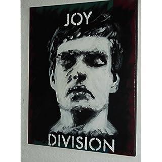 ARTRAX Joy Division Ian Curtis, Handbemalt, 51 x 41 cm