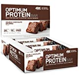 Optimum Nutrition Double Chocolate Brownie Protein Bar - Pack of 10