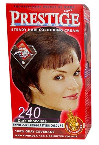 Vip's Prestige - Crème colorante pour cheveux, couleur chocolat noir N240